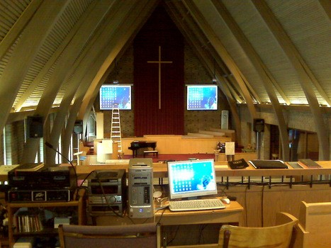 Church with dual projection