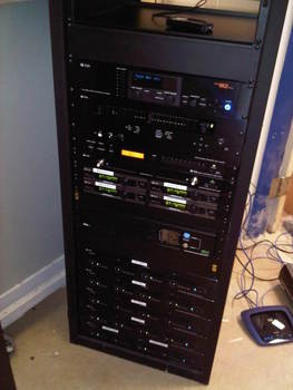 University of Windsor - TOA equipment in Middle Atlantic Rack