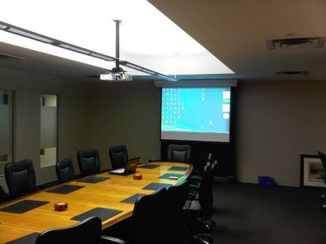 Corporate Boardroom installation